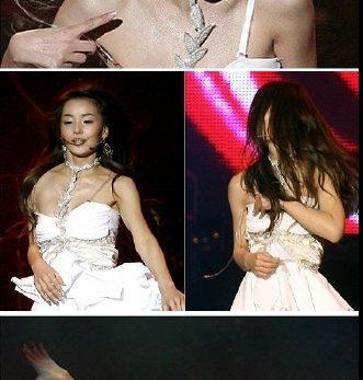 남규리 콘서트 화이트 드레스