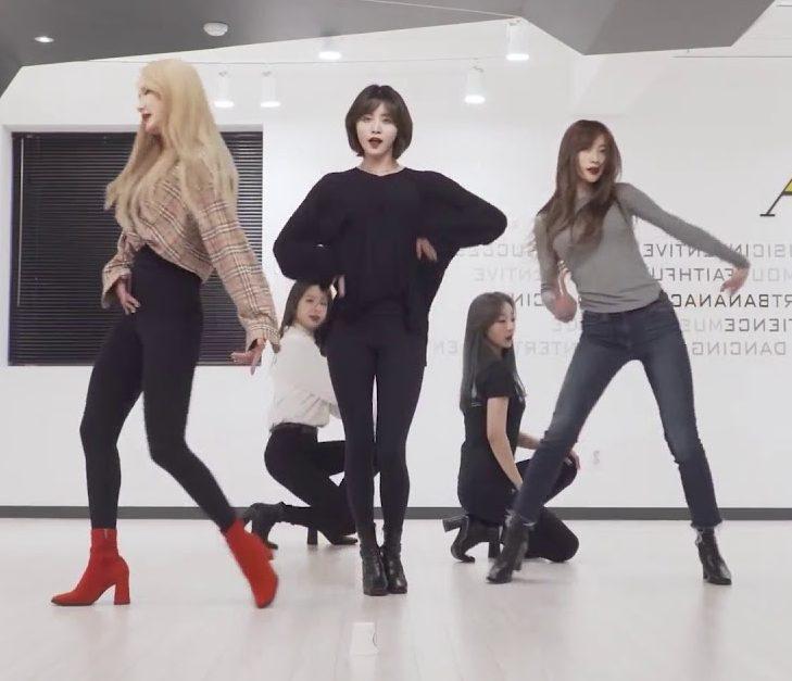 [EXID(이엑스아이디)] 알러뷰 안무 연